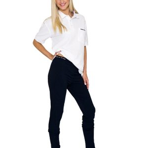 Back on Track (Human) LONG JOHNS - WOMENS (BLACK)-0