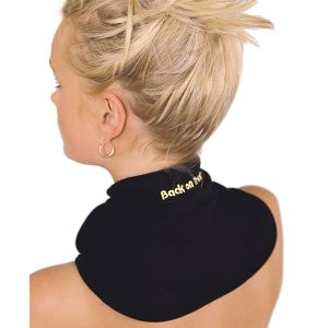 Back on Track (Human) NECK BRACE WITH VELCRO - BLACK-0
