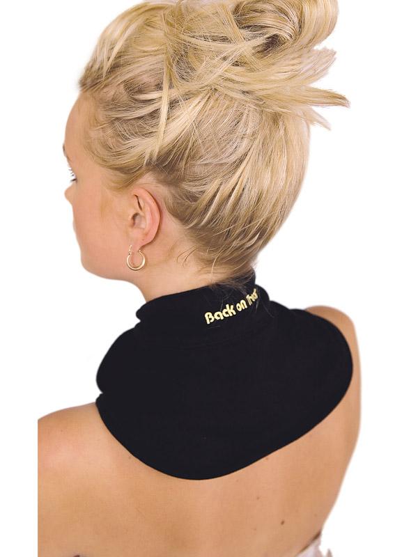 Back on Track (Human) NECK BRACE WITH VELCRO - BLACK-0