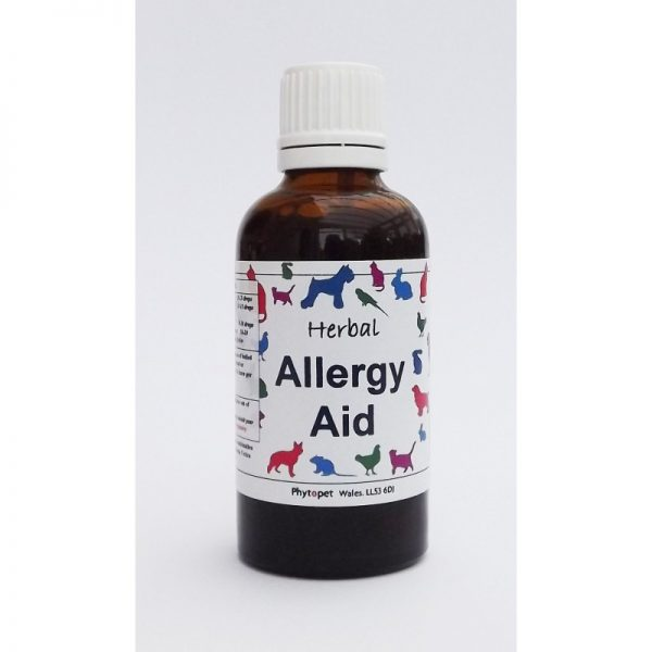 Phytopet Herbal Allergy Aid 50ml-0